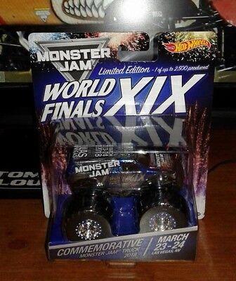 1:64 Hot Wheels Monster Jam World Finals XIX Truck 2018 WORLD FINALS