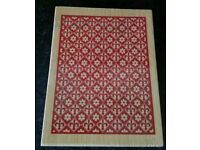 Brand new large background wooden rubber craft stamp, card making, scrapbooking
