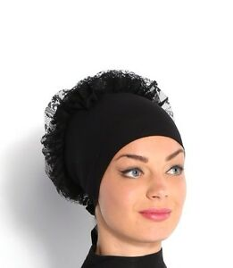 Hijab 2in1 Volumising Bonnet Cap Scrunchie Bun Large Scarf Khaleeji Volumiser