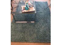 Blue Shaggy Rug 120x170, soft, fluffy, living room, bedroom, accessories, carpet, flooring