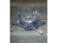 Glass centre piece buy mirano