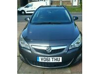 "ON SALE VAUXHALL ASTRA "" EXCLUSIVE"" 1.7CDTI ECO-FLEX ESTATE (2012 YEAR) - AIR CON - ELEC PACK - FSH"