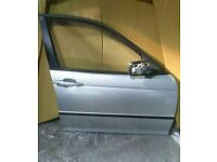 BMW 3 SERIES E46 O/S/F FRONT DRIVER SIDE DOOR