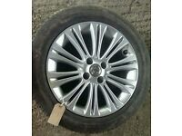 "*WHEEL 1* VAUXHALL CORSA D 16"" ALLOY WHEEL WITH TYRE 195/55/R16"