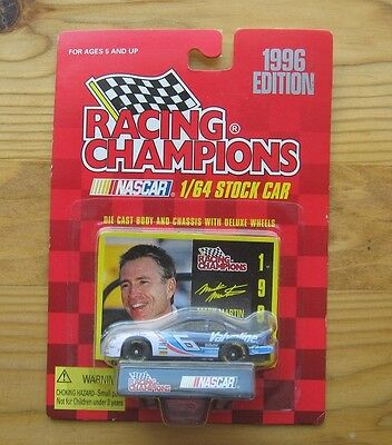 Mark Martin--1996 Racing Champions--#6 Valvoline Diecast Car