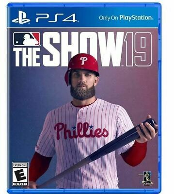 MLB The Show 19 PS4 (PLAYSTATION 4) Brand New Factory Sealed Mlb The Show