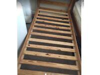 Wooden frame single