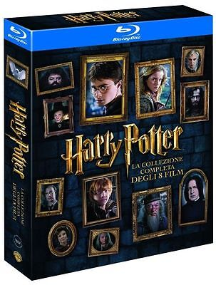 Harry Potter Komplettbox 1-7.2 Box 1+2+3+4+5+6+7.1+7.2 Blu Ray NEU + OVP