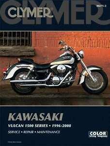 CLYMER SERVICE MANUAL for KAWASAKI VULCAN 1500