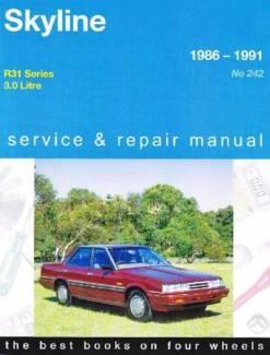 Nissan Skyline R31 1986 - 1991 Gregorys Repair Manual