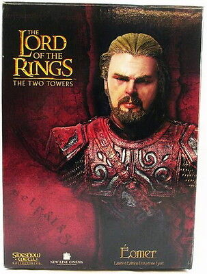 LOTR SIDESHOW WETA EOMER BUST LORD OF THE RINGS