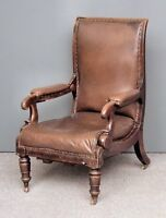 English Library Antique Chair by Robert Daws