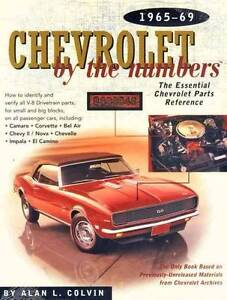 Chevrolet by the Numbers 1965 - 1969 by Alan L. Colvin Hazelbrook Blue Mountains Preview