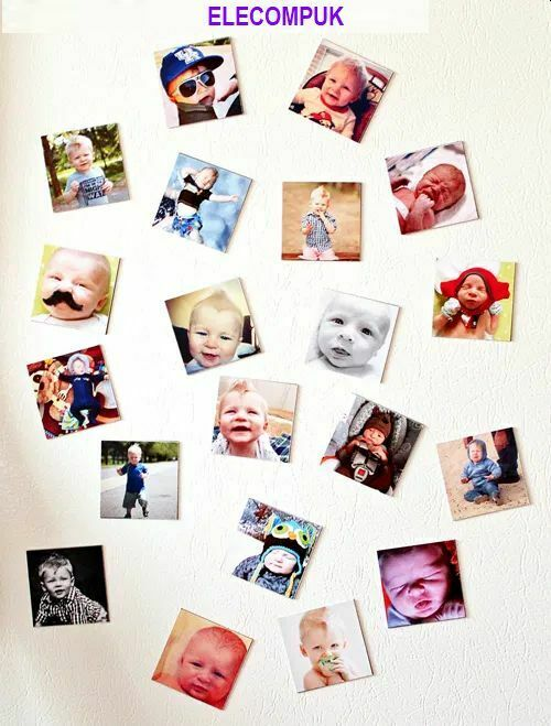 """4"""" X 6""""  MAGNETIC GLOSSY PHOTO SHEETS FOR INKJET PRINTER. 4 SHEETS PER PACK.  3"""