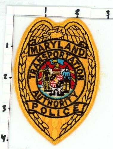 MARYLAND MD TRANSPORTATION AUTHORITY POLICE NICE NEW COLORFUL PATCH SHERIFF