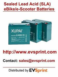 CLEARANCE SALE: 48V 20AH Sealed Lead Acid (SLA) eBike battery/ Electric Bike Batteries (GEL-AGM Hybrid)
