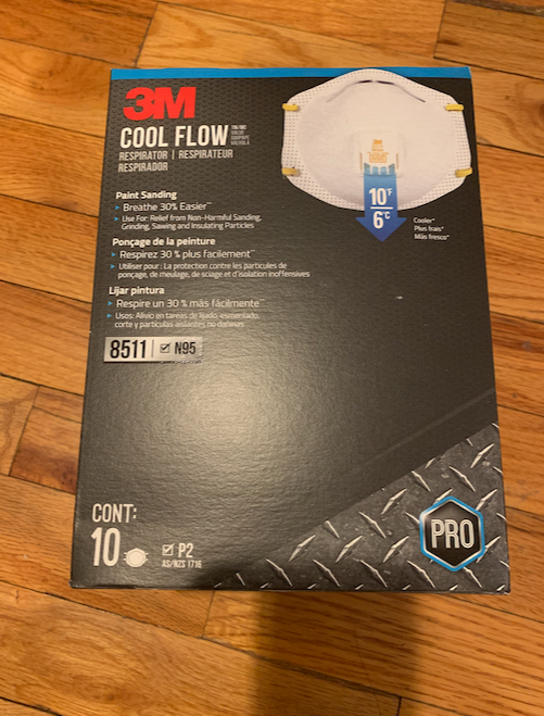 mmm8511 pro cool flow valve new in original box of 10 USA expired 02/2025