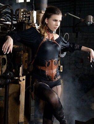 rq-bl steampunk corset xl