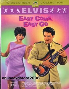 ELVIS-PRESLEY-EASY-COME-EASY-GO-Musical-COMEDY-Film-DVD-NEW-SEALED-Reg-4