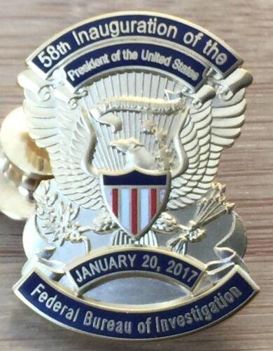 FBI - Federal Bureau of Invest. 2017 58th Inauguration Lapel Pin