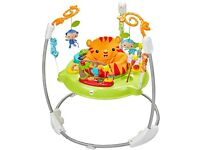 Fisher-Price Roarin' Rainforest Jumperoo as new