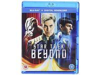 Star Trek Beyond blu-ray sealed/new
