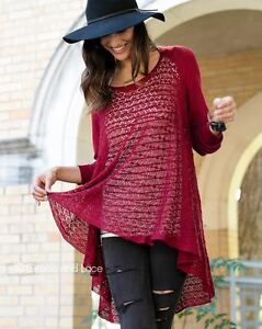grace and lace two way cardigan cranberry
