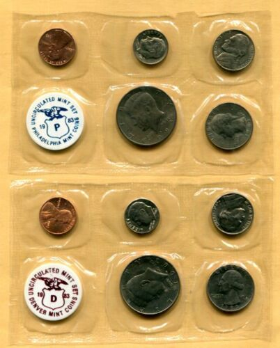1983 Private-Issue P & D MINT 10-Coin SET with Envelope - Free Shipping