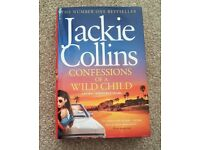 Jackie Collins hardback book brand new