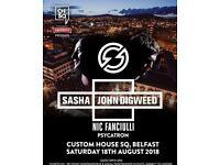 2 x VIP Sasha & John Digweed tickets