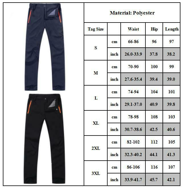 Mens Outdoor Hiking Combat Trousers Tactical