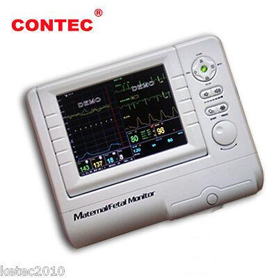 Contec Cms800f Maternal Fetal Movement Patient Monitor Fhrtocoecgnibpspo2