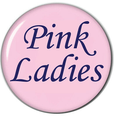 GREASE PINK LADIES MARTY NAME BADGE & BUTTON HALLOWEEN COSPLAY MAGNET BACK (Grease Marty)