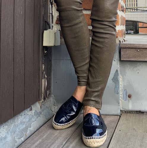 Jolie chaussure  espadrille chanel    t 37 neuve