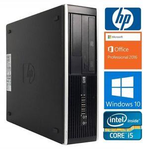 HP Compaq 6200 Pro SFF: i5-2400: 3.1GHZ, 8GB RAM, 500GB HD: 175$