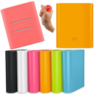 New Soft Silicone Protective Back Cover Case Skin for Xiaomi 10400mah Power Bank on Rummage