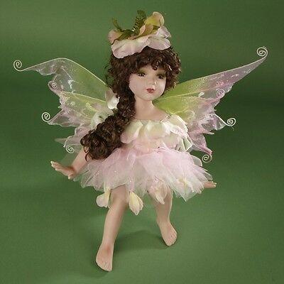 "Job Lot of 6 Vanity Fair Sitting 18"" Porcelain Fairies"