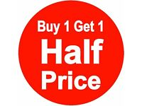 BUY 1 GET 1 HALF PRICE - FEMALE AND MALE WAXING