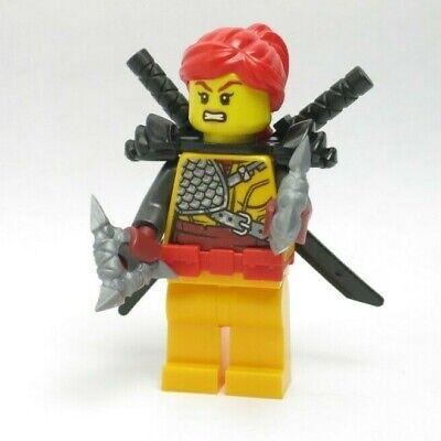 Skylor - Hunted NEW Red Hair Orange Ninja 70651 Movie Ninjago LEGO Minifigure