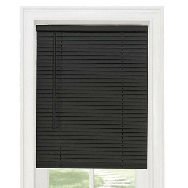 NEW Achim Home Furnishings GII Cordless Mini Blind - Black M