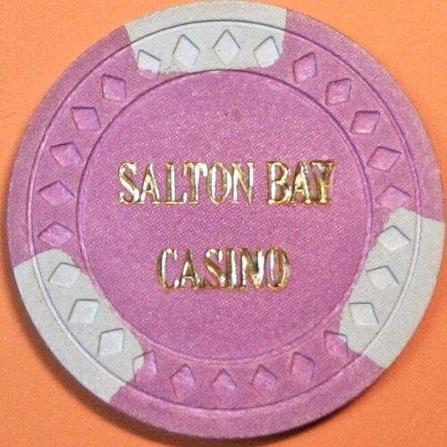 $20 Vintage Casino Chip. Salton Bay, Salton City, CA. 1984. Q36.