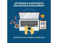 Bespoke Web Design - Affordable Websites - Wordpress - eCommerce - Blogs