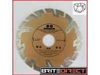 Inter-Kert Diamond deep cutting discs 115mm for stone, concrete, clinker,granite building