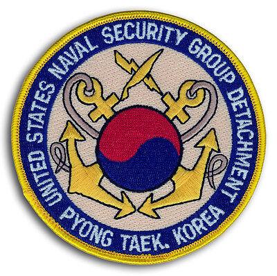 US Navy NSGD Pyong Taek Korea Naval Security Group Detachment