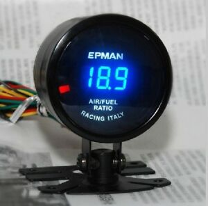 "Air Fuel Ratio Digital Gauge 2"" Car Racing Meter"