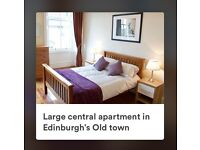 Fabulous Edinburgh Old Town apartment to rent