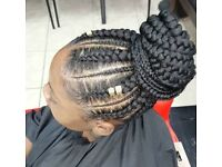 Mobile hairdresser Braids/Weave/Faux locs/ Feedin cornrows/ kids hairdresser
