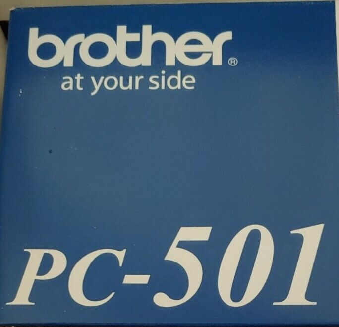 Brother pc 201 genuine fax cartridge, New in box