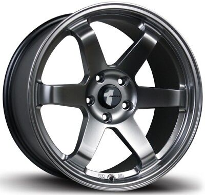 "Avid1 AV06 18X9.5 Rims 5x114.3 +38 Hyper Black Wheels Concave Jdm Style  18"" (4)"