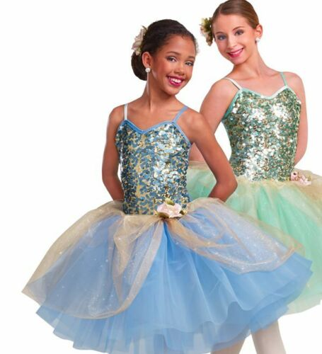 Adult XL MINT color VERSION Romantic Ballet Tutu Dance Dress Costume